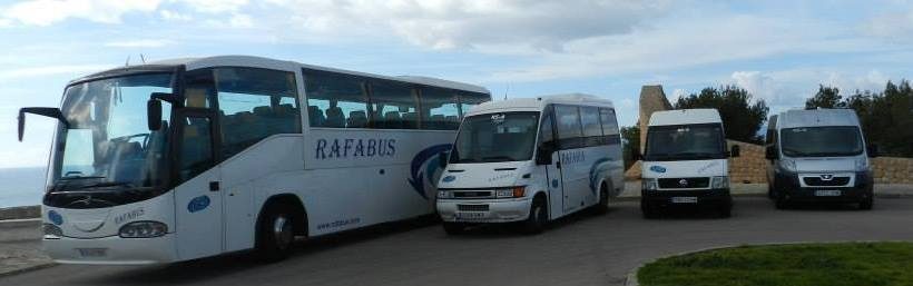 Reise- und Kleinbusvermietung in Playa de Muro